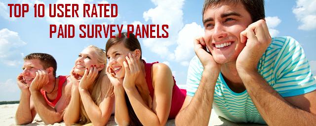 top 10 paid survey panels