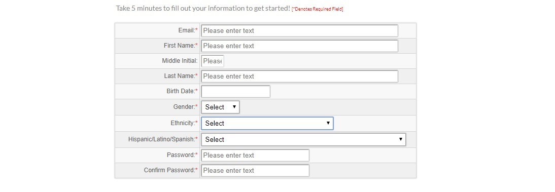 MYSoapBox Registration Form