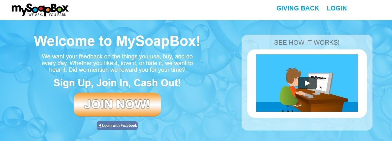MySoapBox Panel
