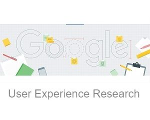 Google User Experience Research Logo